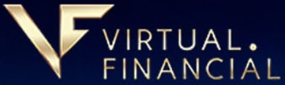Virtual financial logo